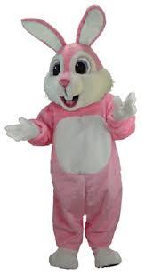 easter bunny costume buy pink rabbit mascot bunny costume t0234 mask us