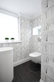 wallpaper bathroom ideas 28 stunning wallpaper ideas your home needs freshome com