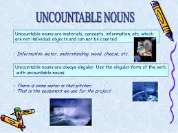 Countable And Uncountable Nouns List Countable And Uncountable Nouns Personal Care Products Basic Iii 1