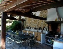 cuisine d été en bois cuisine ete luxe realisation d une cuisine d ete et four bois