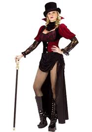 Victorian Halloween Costume Vampire Victorian Burlesque Costume Halloween Costumes