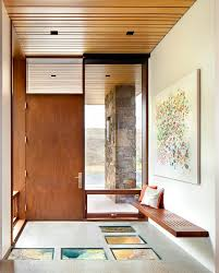 Matthew Coates Front Entry Bench Entry Contemporary With Ellis Residence Coates