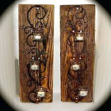 Tealight Wall Sconce Sconce Mainstays Tealight Wall Sconce Family Lighting Bathroom