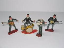 beatles cake toppers 4 vintage plastic beatles cake toppers figures hong kong ebay