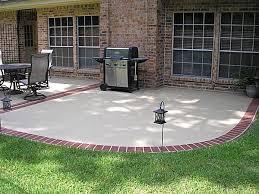 Backyard Concrete Patio Designs Concrete Patio Ideas Backyard Outdoor Goods