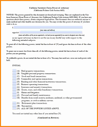 Statutory Durable Power Of Attorney Form by 5 Grandparent Power Of Attorney Form Action Plan Template
