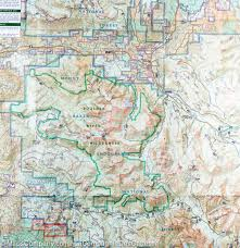 Montana Topographic Map by Trail Map Of Mount Baker And Boulder River Wilderness Areas Mt