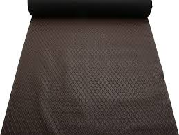 Upholstery Fabric Cars Diamond Stitch Embossed Padded Luxury Camper Car Upholstery Faux