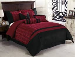 Burgundy And Brown Comforter Set Bedding Engaging Burgundy Bedding 8 Piece Queen Caesar White