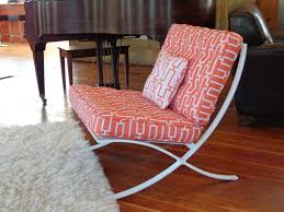 Barcelona Style Sofa Gorgeous Barcelona Style Chair With Mies Van Der Rohe Style