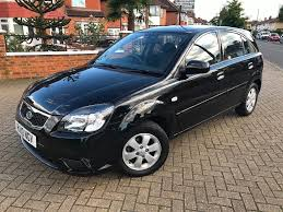 2010 10 kia rio 2 1 4 petrol automatic black low mileage