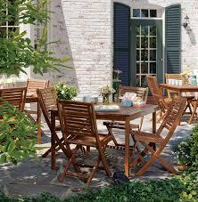 Wood Patio Furniture Sets - amazon com oxford garden capri acacia folding chair 2 pack