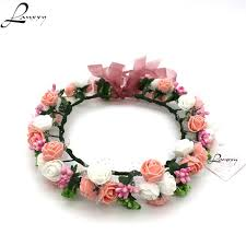 flower bands aliexpress buy lanxxy new women wedding bridal hair bands