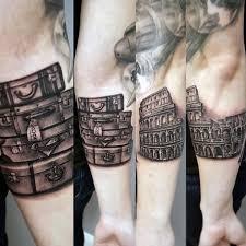 travel ideas images 75 travel tattoos for men adventure design ideas jpg