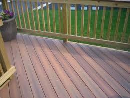fiberon ipe decking and pressure treated wood railing woodbridge va