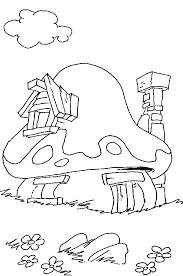smurfs coloring pages 12 coloring