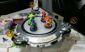 This Custom Built by Your Inkling Amiibo Need Their Own Turf Check Out This Custom