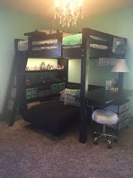 Loft Bed With Desk And Futon 61 Best Loft Beds I Design And Build Images On Pinterest Lofted