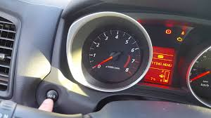 mitsubishi rvr settings menu or how to change avg fuel consumption