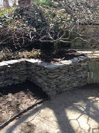garden walls stone retaining walls capital masonry llc