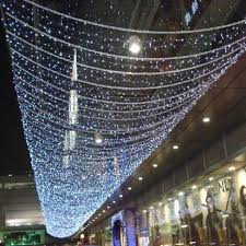 warm white string fairy lights 50m led string fairy lights indoor outdoor garden christmas party