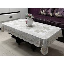 lace vinyl table covers table cloth 36 x 54 rectangle katwa clasic lace vinyl tablecloth