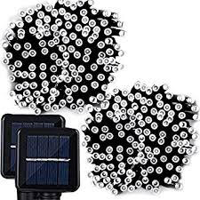 Solar String Lights Outdoor Patio Lemontec Solar String Lights 200 Led String