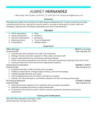 Administrative Resume Template Office Administrator Resume Examples Cbshow Co