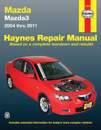 mazda3 04 11 haynes repair manual haynes manuals