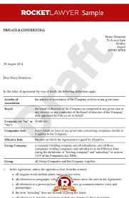 sample non executive director letter of appointment template