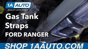 2003 ford ranger gas tank size how to install replace gas tank straps 1998 03 ford ranger