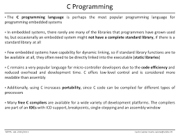 microcontroller programming ppt download