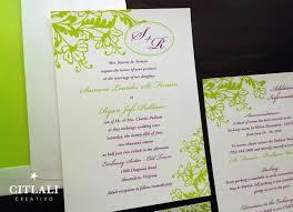 fancy invitations fancy floral flourish wedding invitations citlali creativo llc