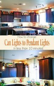 Kitchen Can Lights by Replace Over Sink Recessed Light With Pendant How To Photos