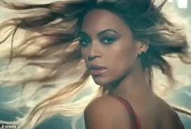 car commercial girl short blond hair beyonce decides to get going in new toyota commercial that shows