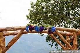 wedding arch log wooden wedding arch with flowers cool wedding ideas