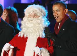 barack obama photos photos national christmas tree lighting