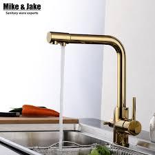 kitchen faucet 3 golden color 3 way kitchen faucet water kitchen faucet 3 way
