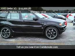 2005 bmw x5 3 0 i 2005 bmw x5 3 0i pan roof custom rims lo for sale in hol