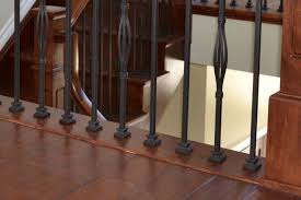 Laminate Flooring On Steps Installing Laminate Flooring Around Stair Spindles Flooring Designs