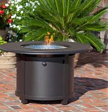 propane fire pit canada paramount stamped round aluminum propane firepit table walmart