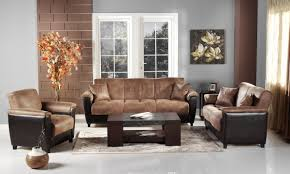 Two Tone Sofa Living Room Furniture Nakicphotography - Microfiber living room sets