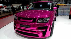 land rover pink hamann details its pink range rover motor1 com photos