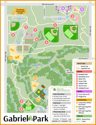 Map Portland by Maps Friends Of Gabriel Park