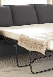 Nolana Charcoal Sofa by Signature Design By Ashley Zeb Full Sofa Sleeper With Memory Foam