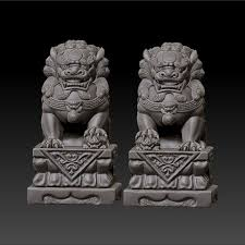 pictures of foo dogs free 3d printer file guardian lions or foo dogs cults