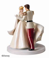 cinderella and prince charming wedding cake topper the wedding