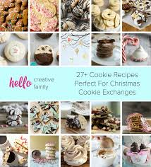 27 cookie recipes perfect for christmas cookie exchange parties