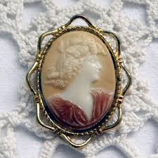 cameo antique necklace images 1930s vintage cameo brooch of flora jpg