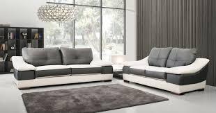 canapé cuir et tissu canapé prosper canapé cuir design italien personnalisable sur